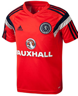 2014 Scotland Training Shirt Red - Kids